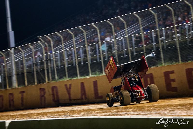 Greg Hodnett Classic- Pennsylvania Sprint Car Speedweek - Port Royal Speedway - 77 Freddie Rahmer Jr.