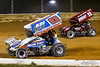 Greg Hodnett Classic- Pennsylvania Sprint Car Speedweek - Port Royal Speedway - 33 Jared Esh, 11 TJ Stutts