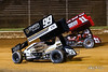 Greg Hodnett Classic- Pennsylvania Sprint Car Speedweek - Port Royal Speedway - 99M Kyle Moody, 11 TJ Stutts