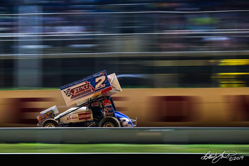 Greg Hodnett Classic- Pennsylvania Sprint Car Speedweek - Port Royal Speedway - 2 AJ Flick