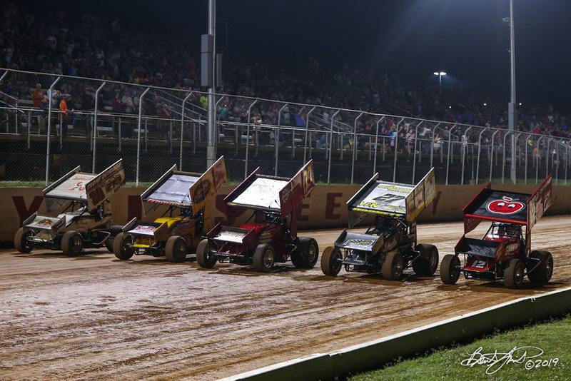Greg Hodnett Classic- Pennsylvania Sprint Car Speedweek - Port Royal Speedway