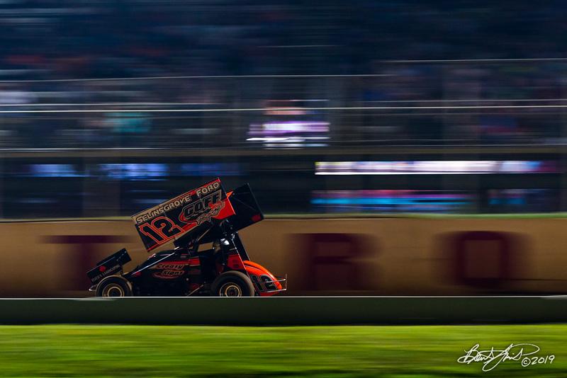 Greg Hodnett Classic- Pennsylvania Sprint Car Speedweek - Port Royal Speedway - 12 Blane Heimbach