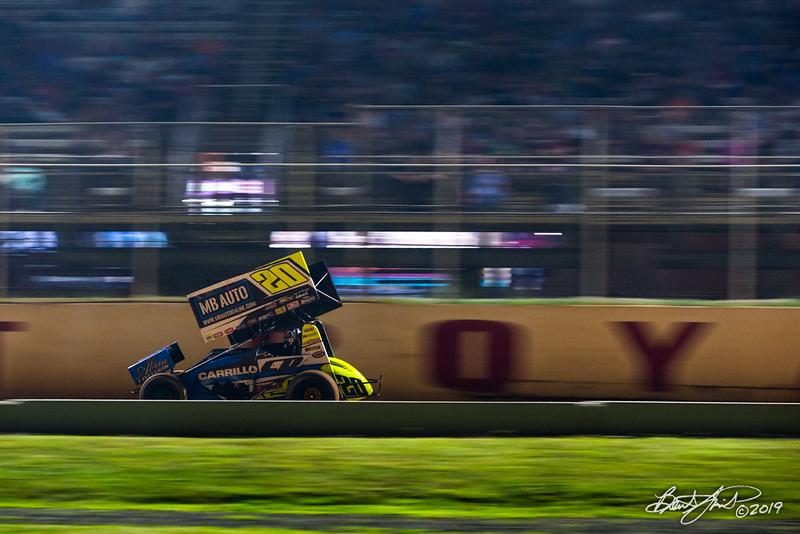 Greg Hodnett Classic- Pennsylvania Sprint Car Speedweek - Port Royal Speedway - 20 Ryan Taylor