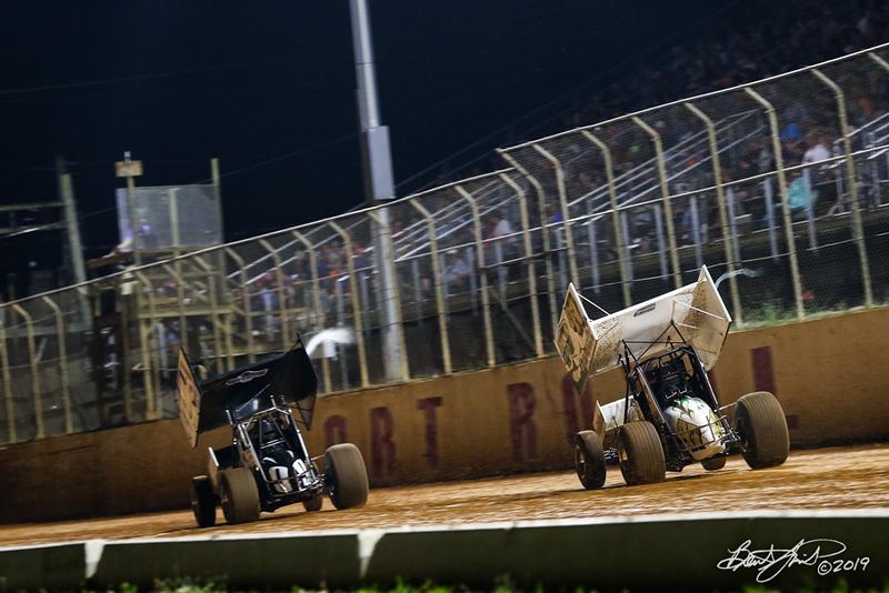 Greg Hodnett Classic- Pennsylvania Sprint Car Speedweek - Port Royal Speedway - 47k Kody Lehman, 9L Ryan Linder