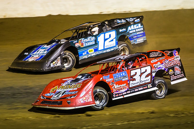 Bobby Pierce (32) and Jason Jameson (12)