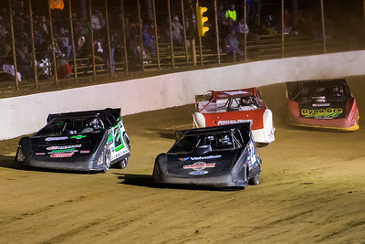 Gregg Satterlee (22), Stormy Scott (2S), Jackie Boggs (4B) and Billy Moyer, Jr. (21JR)
