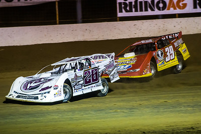 Tyler Carpenter (28) and Tim McCreadie (39)