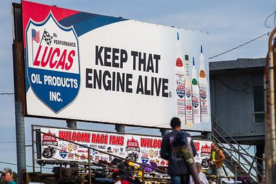 Lucas Oil advertising
