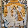 Tile in Saint Sebastian Chapel, Albufeira