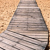 Boardwalk on Albufeira beach
