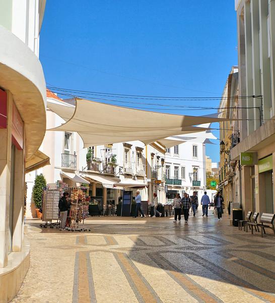 Faro pedestrian street