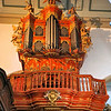 Organ pipes in the Faro Sé