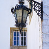 Faro street lamp and window