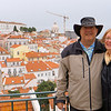 William and Anne at Portas do Sol in Lisbon