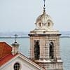 Lisbon church tower