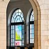 Arch in Santa Apolina train station