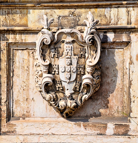 Coat of arms on a building