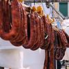 Sausages at Loulé Farmers Market