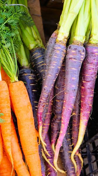 Carrots at Loulé Farmers Market