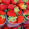Strawberries at Loulé Farmers Market