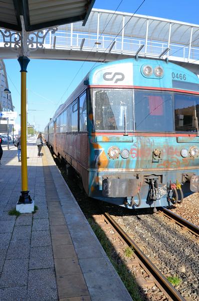 Local train in Thr Algarve