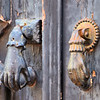Door knockers in Tavira