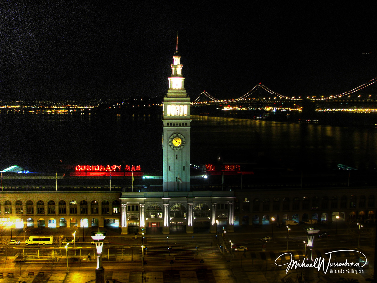Ferry Building 10:00 pm