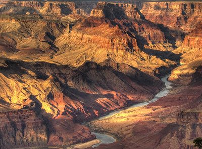 Colorado River from Desert View