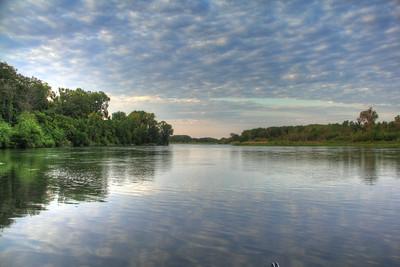 Sacramento River 6:52 am 7-17-14