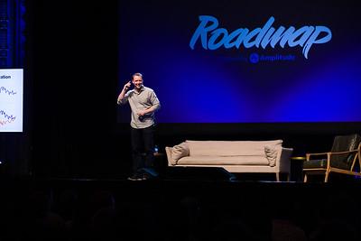 RoadMap SF Amplitude @Amplitude_HQ #roadmap Andy Johns @ibringtraffic Partner at Unusual Ventures Show Sponsors @womenpm @Optimizely & @segment