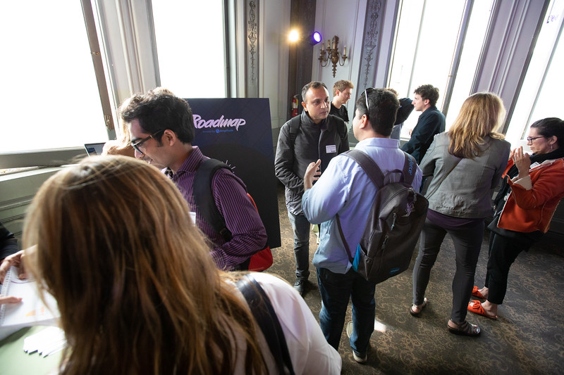 RoadMap SF Amplitude @Amplitude_HQ #roadmap Show Sponsors @womenpm @Optimizely & @segment