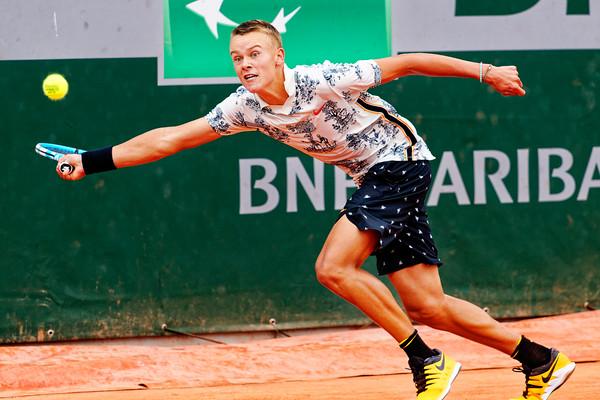 01.01b Holger Rune - Roland Garros juniors 2019