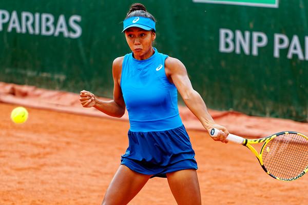 01.02a Leylah Annie Fernandez - Roland Garros juniors 2019