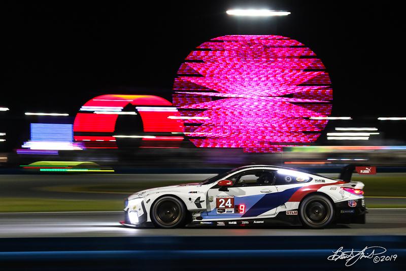 Rolex 24 at Daytona - IMSA WeatherTech SportsCar Championship - Daytona International Speedway - 24 BMW Team RLL, BMW M8 GTE, John Edwards, Jesse Krohn, Chaz Mostert, Alex Zanardi