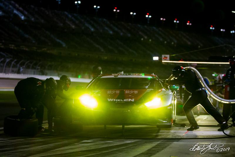 Rolex 24 at Daytona - IMSA WeatherTech SportsCar Championship - Daytona International Speedway - 47 PPM, Lamborghini Huracan GT3, Steve Dunn, Linus Lundqvist, Milos Pavlovic, Don Yount