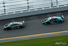 Rolex 24 at Daytona - IMSA WeatherTech SportsCar Championship - Daytona International Speedway - 44 Magnus Racing, Lamborghini Huracan GT3, John Potter, Andy Lally, Spencer Pumpelly, Marco Mapelli, 48 Paul Miller Racing, Lamborghini Huracan GT3, Bryan Sellers, Ryan Hardwick, Corey Lewis, Andrea Caldarelli