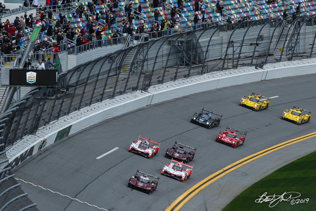 Rolex 24 at Daytona - IMSA WeatherTech SportsCar Championship - Daytona International Speedway - Start