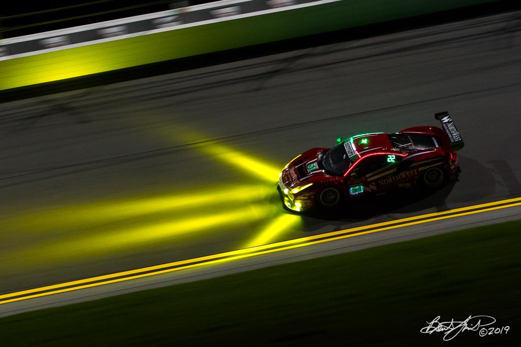 Rolex 24 at Daytona - IMSA WeatherTech SportsCar Championship - Daytona International Speedway - 51 Spirit of Race, Ferrari 488 GT3, Paul Dalla Lana, Pedro Lamy, Mathias Lauda, Daniel Serra