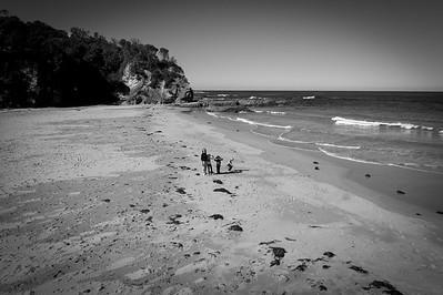 Winton Family on Nun's Beach
