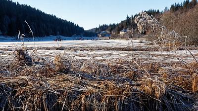 Tour du lac - Effets de givre