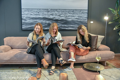 Jessica Gliddon, Leah Bronson and Kasia Pawlowska