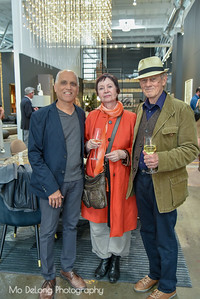 Zahid Sardar and Kevin and Marianne Brown