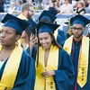Newburgh Free Academy students process onto Academy Field for the 154th Commencement Exercises for the graduating Class of 2019 in the City of Newburgh, NY on Tuesday, June 25, 2019. Hudson Valley Press/CHUCK STEWART, JR.