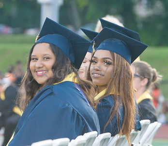 Newburgh Free Academy held its 154th Commencement Exercises for the graduating Class of 2019 on Academy Field in the City of Newburgh, NY on Tuesday, June 25, 2019. Hudson Valley Press/CHUCK STEWART, JR.