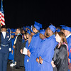 The Presentation of Colors by Poughkeepsie High School AFJROTC begins the Poughkeepsie High School 147th Commencement Exercises for the graduating Class of 2019 on Friday, June 28, 2019 in Poughkeepsie, NY. Hudson Valley Press/CHUCK STEWART, JR.