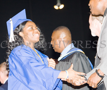 Poughkeepsie High School students receive their diplomas during the 147th Commencement Exercises for the graduating Class of 2019 on Friday, June 28, 2019 in Poughkeepsie, NY. Hudson Valley Press/CHUCK STEWART, JR.