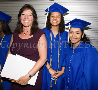 New York State Senator Sue Serino with Poughkeepsie High School students prior to the 147th Commencement Exercises for the graduating Class of 2019 on Friday, June 28, 2019 in Poughkeepsie, NY. Hudson Valley Press/CHUCK STEWART, JR.