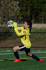 Goalie warming up at the 2019 Jefferson Cup