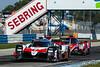 1000 Miles of Sebring - FIA WEC - Sebring International Raceway - 7 TOYOTA GAZOO RACING Toyota TS050 - Hybrid, Mike Conway, Kamui Kobayashi, Jose Maria Lopez