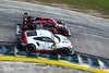1000 Miles of Sebring - FIA WEC - Sebring International Raceway - 91 PORSCHE GT TEAM Porsche 911 RSR, Richard Lietz, Gianmaria Bruni, 1 REBELLION RACING Rebellion R13 - Gibson, Neel Jani, Mathias Beche, Bruno Senna